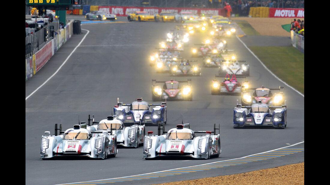 Le Mans, Rennen