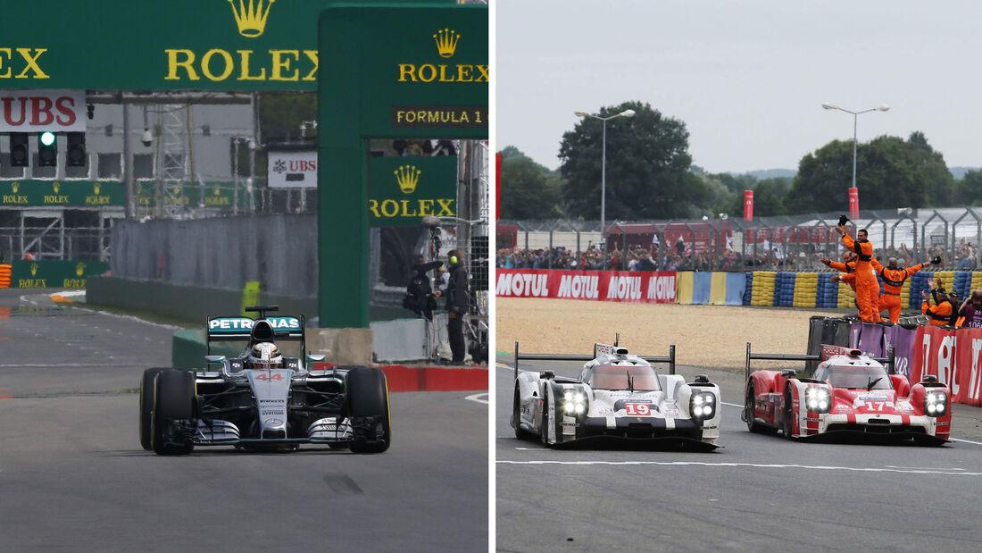 Le Mans vs. Formel 1