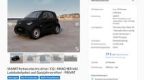 Leasing-Angebote Elektroautos 2020