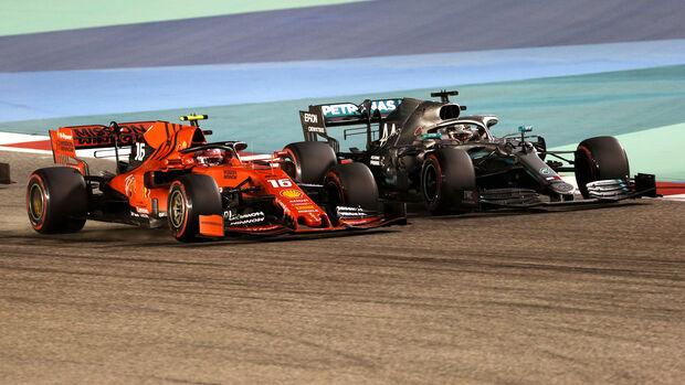 Leclerc & Hamilton - GP Bahrain 2019