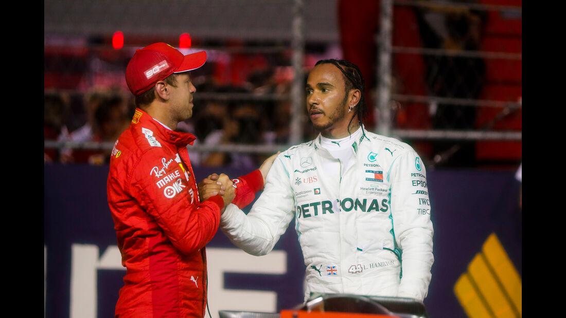 Leclerc - Hamilton - GP Singapur 2019 - Qualifying