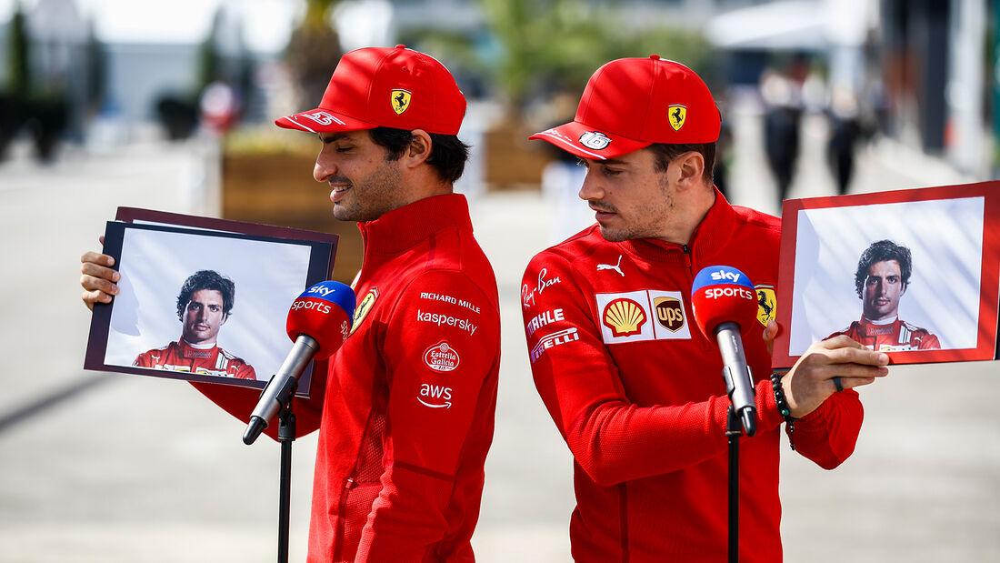 Leclerc & Sainz - GP Türkei 2021