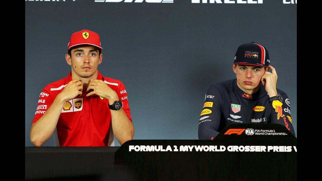 Leclerc & Verstappen - Formel 1 - GP Österreich - Spielberg - 30. Juni 2019