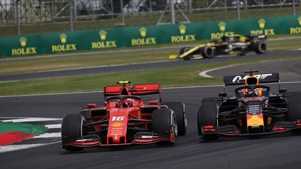 Leclerc - Verstappen - GP England 2019 - Silverstone - Rennen