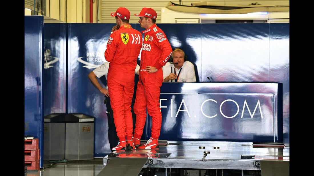 Leclerc & Vettel - Formel 1 - GP Mexiko - 26. Oktober 2019