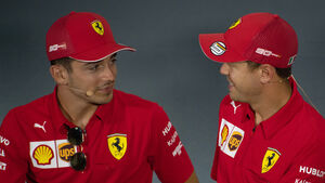 Leclerc & Vettel - GP Italien 2019