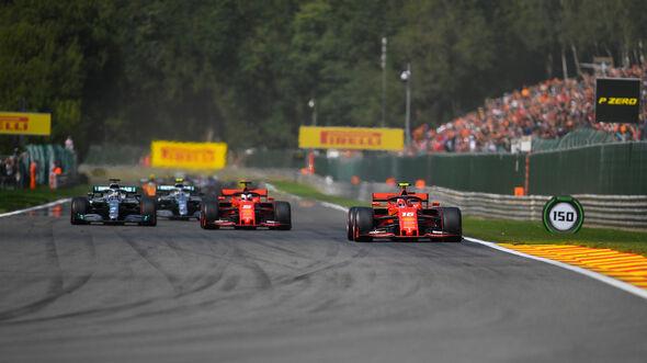 Leclerc - Vettel - Hamilton - GP Belgien 2019 - Spa-Francorchamps