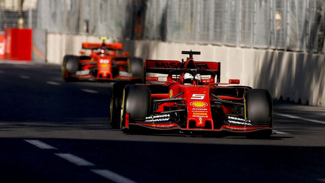 Leclerc vs. Vettel - Formel 1 - GP Aserbaidschan 2019