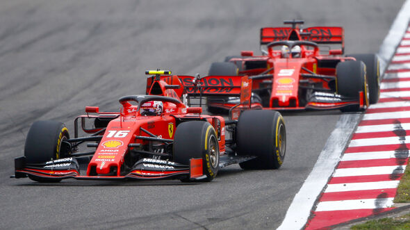 Leclerc vs. Vettel - GP China 2019