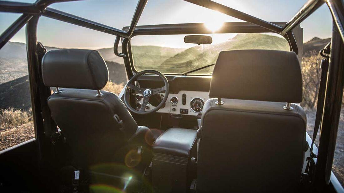 Legacy Jeep CJ Scrambler Conversion
