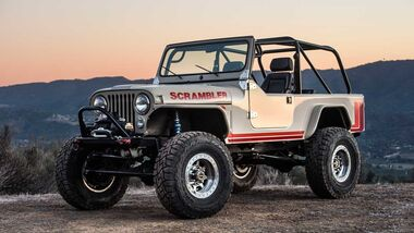 Legacy Jeep CJ Scrambler Conversion