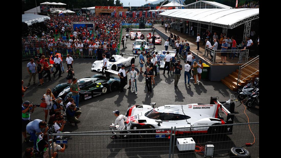 Legendenparade - GP Österreich 2017 - Spielberg