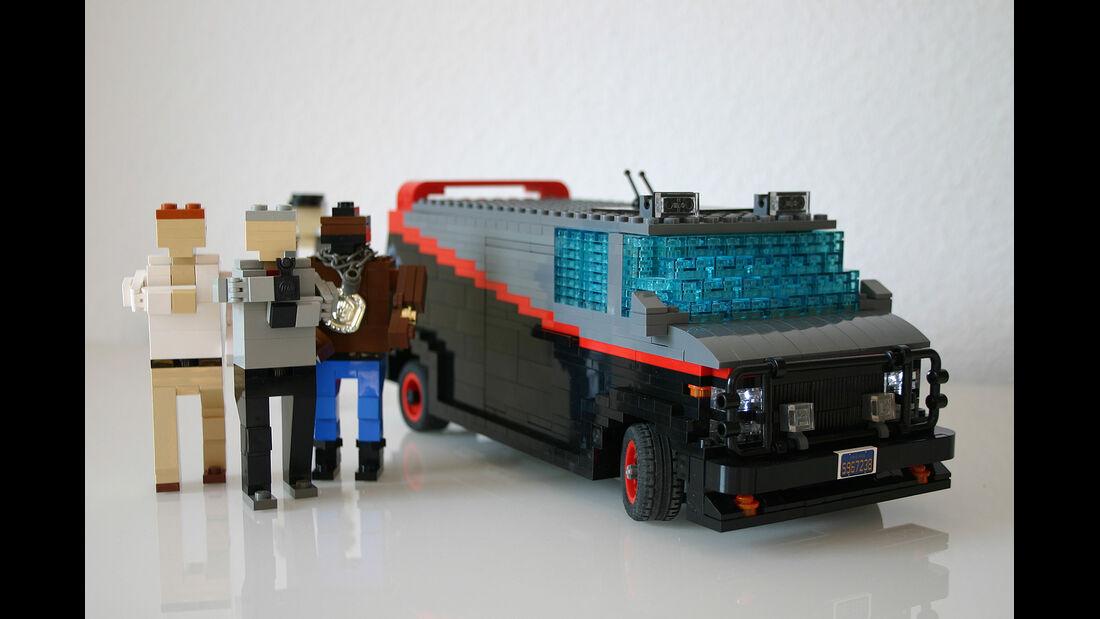 Lego Auto-Modelle, A-Team GMC