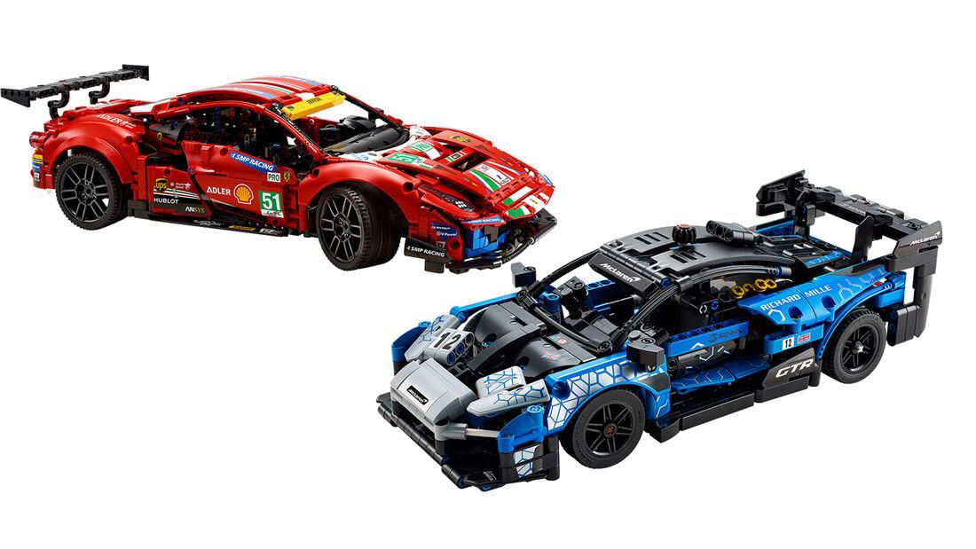 Lego Ferrari 488 GTE AF CORSE 51 McLAREN SENNA GTR