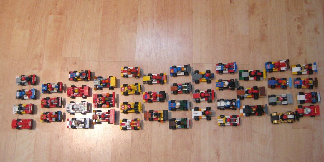 Lego Rennautos