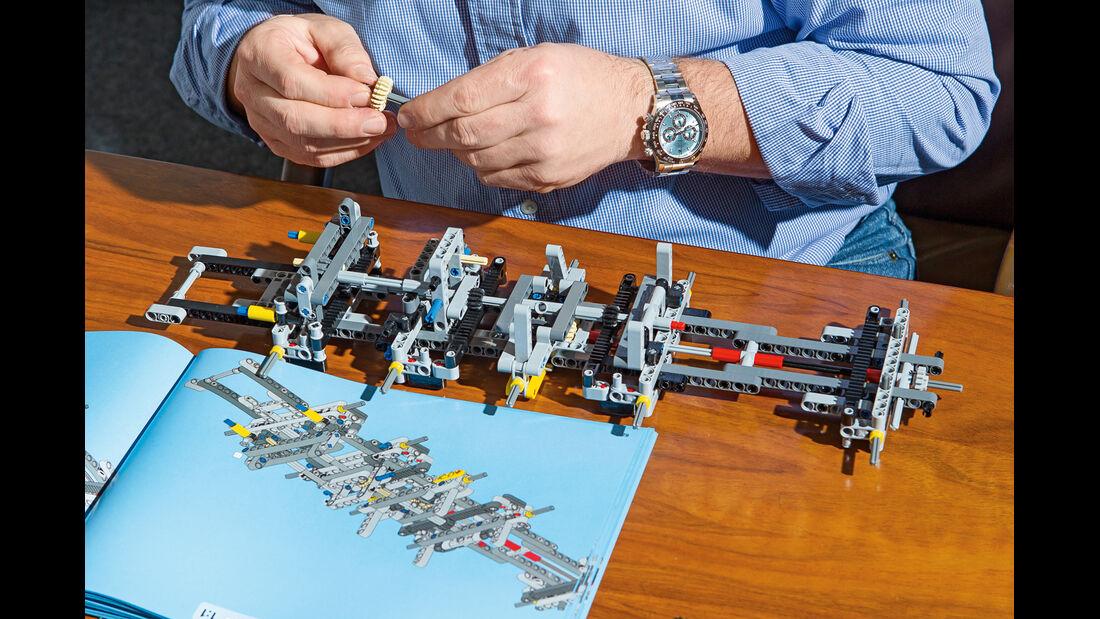 Lego-Technik, Aufbau, Bauplan