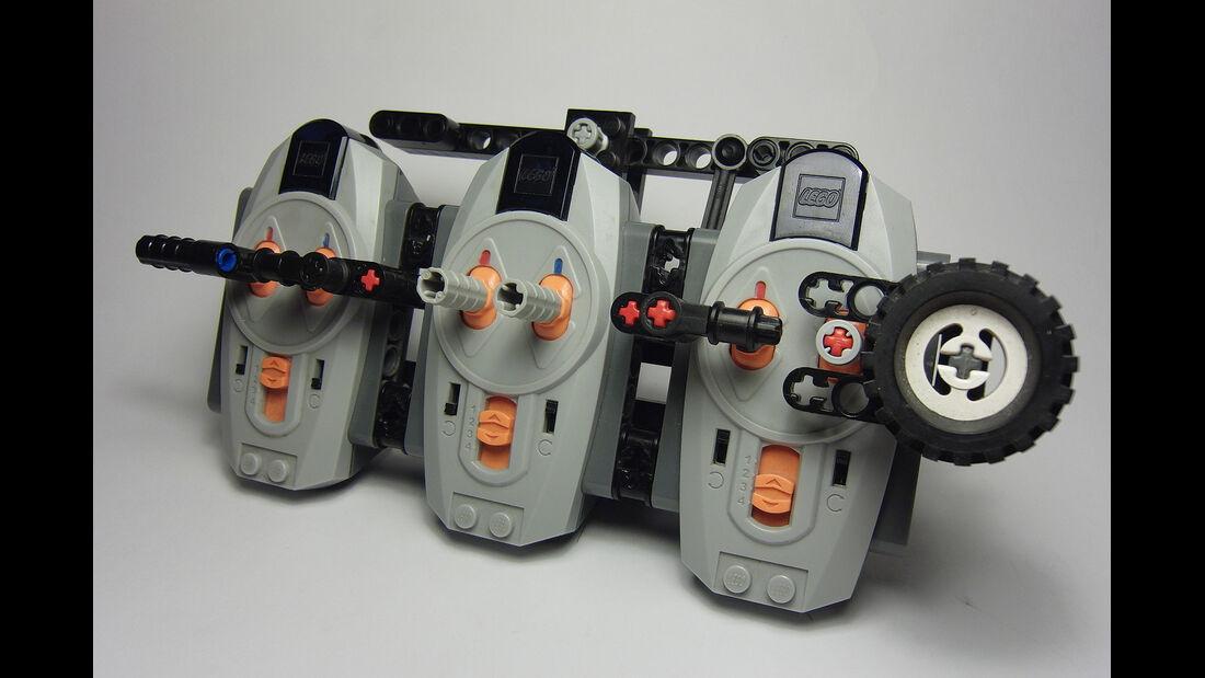 Lego Technik Auto-Nachbauten, Fernsteuerung
