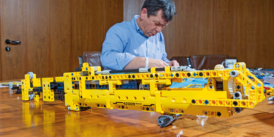 Lego-Technik, Kranarm