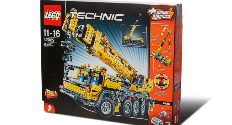 gr ter lego technic bausatz mobiler schwerlastkran. Black Bedroom Furniture Sets. Home Design Ideas