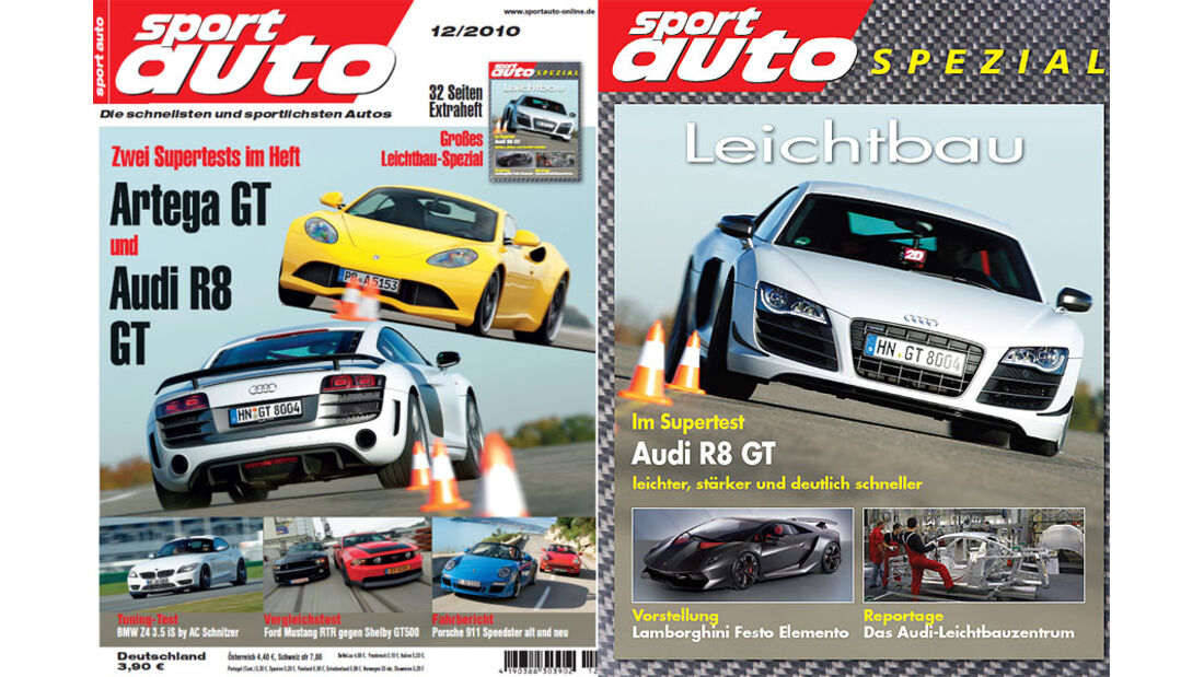 Leichtbau-Beilage sport auto-Zeitschrift 12-2010