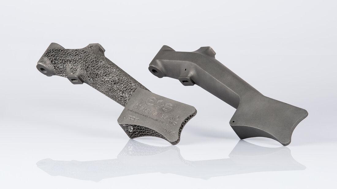 Leichtbau-Bremspedal aus dem 3D-Drucker von EOS