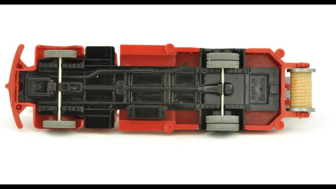 Leiterwagen MB 5000, rot/schwarz  Wiking