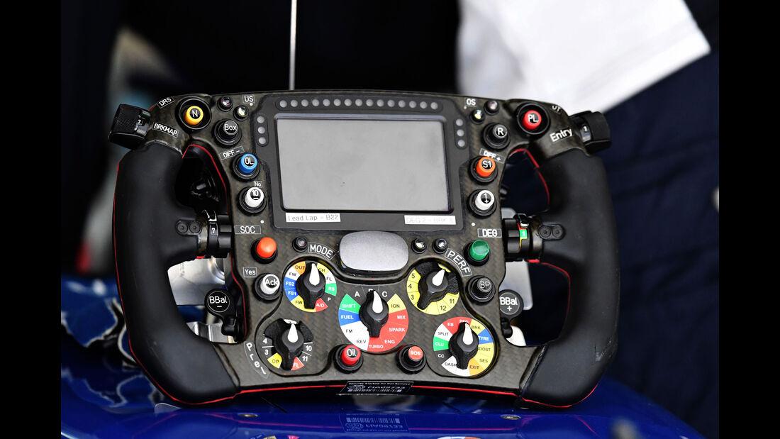 Lenkrad - Formel 1 - GP Russland - 29. April 2016