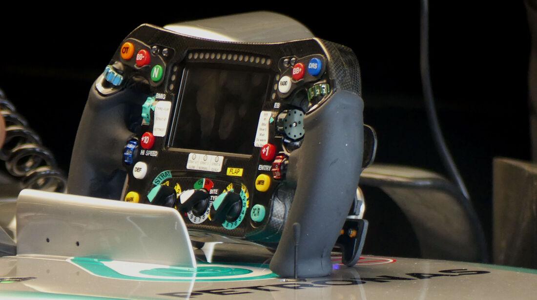 Lenkrad Mercedes - Formel 1 - GP Ungarn - 23. Juli 2016