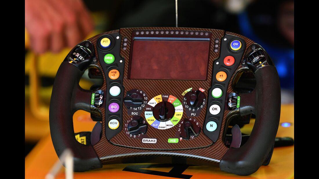 Lenkrad Renault - Formel 1 - GP Spanien - 13. Mai 2017