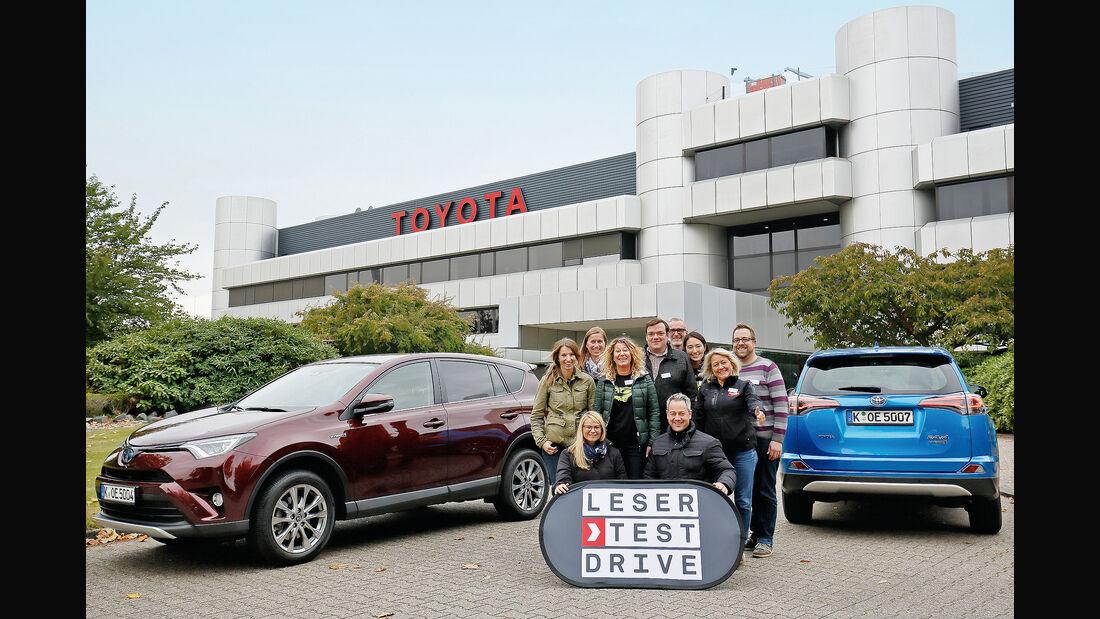 Leseraktion Testdrive Toyota RAV4 Hybrid