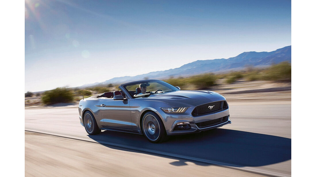 Leserwahl sport auto-Award G 067 - Ford Mustang Cabrio 5.0