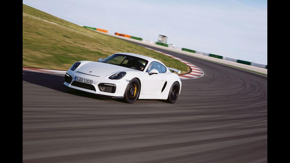 Leserwahl sport auto-Award M 126 - Porsche Cayman GT4