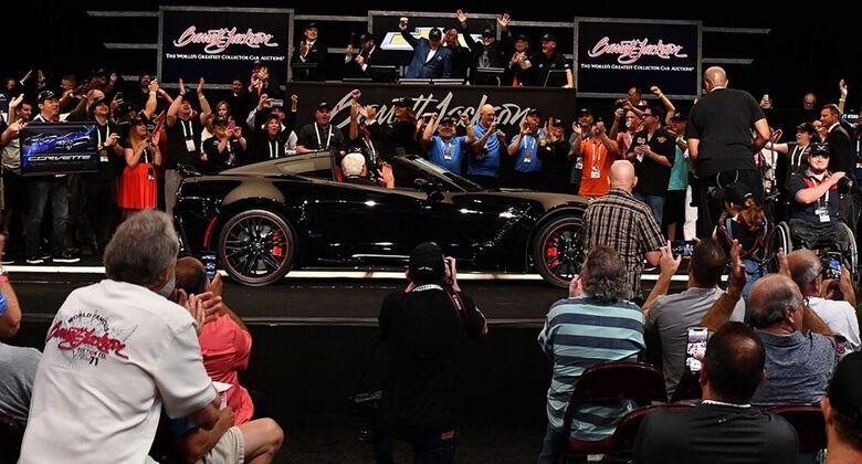 Letzte Frontmotor-Corvette versteigert (2019)