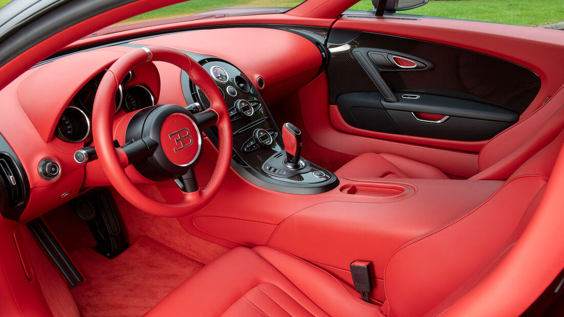 Letzter Bugatti Veyron Super Sports Verkauf