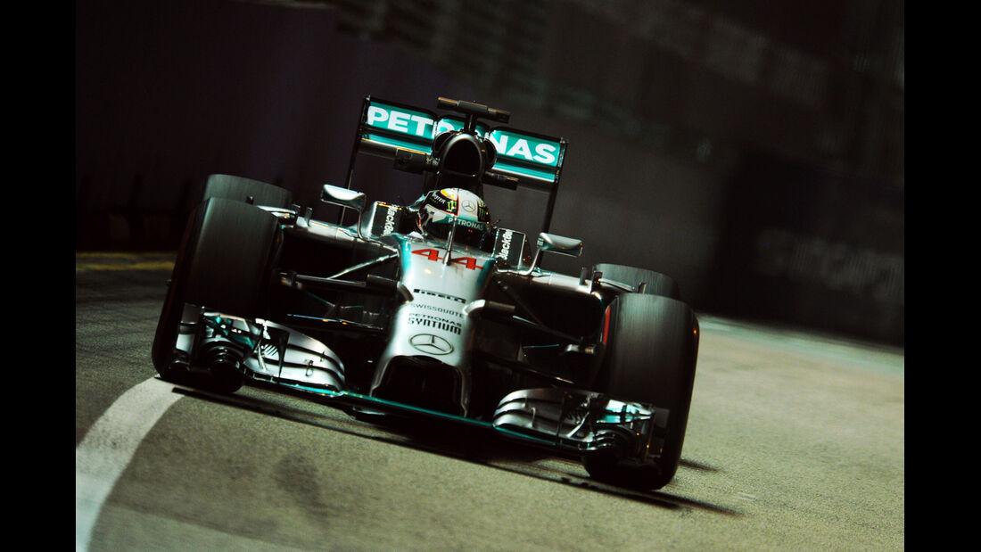 Lewiis Hamilton - Mercedes - Formel 1 - GP Singapur - 19. September 2014