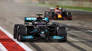 Lewis Hamilto - Mercedes - GP Bahrain 2021