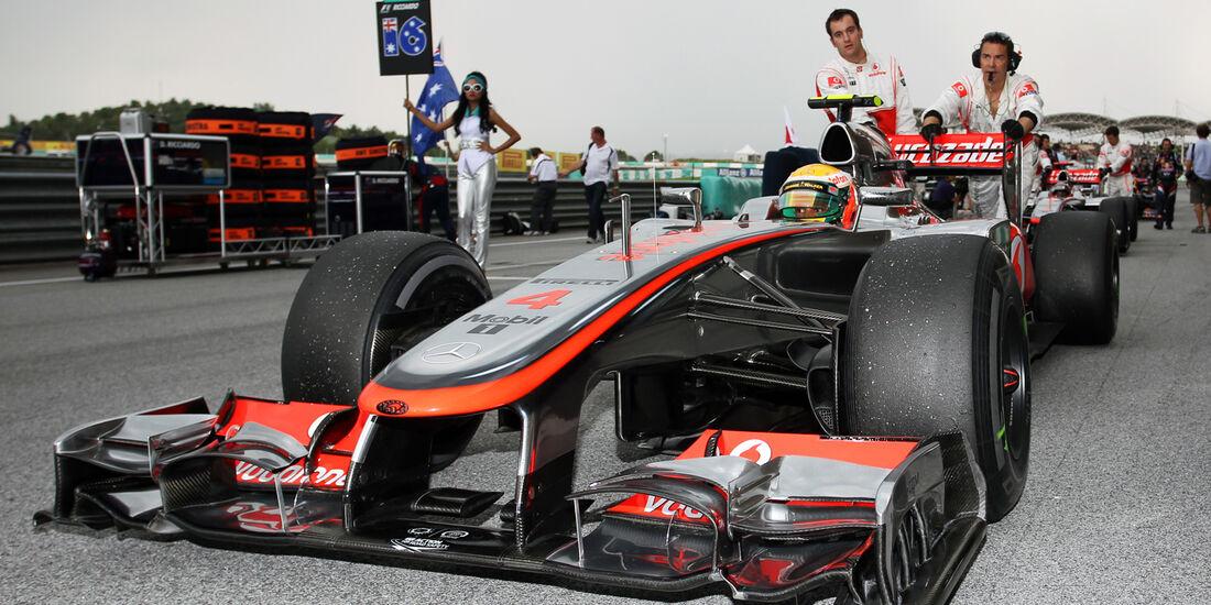 Lewis Hamilton 2012