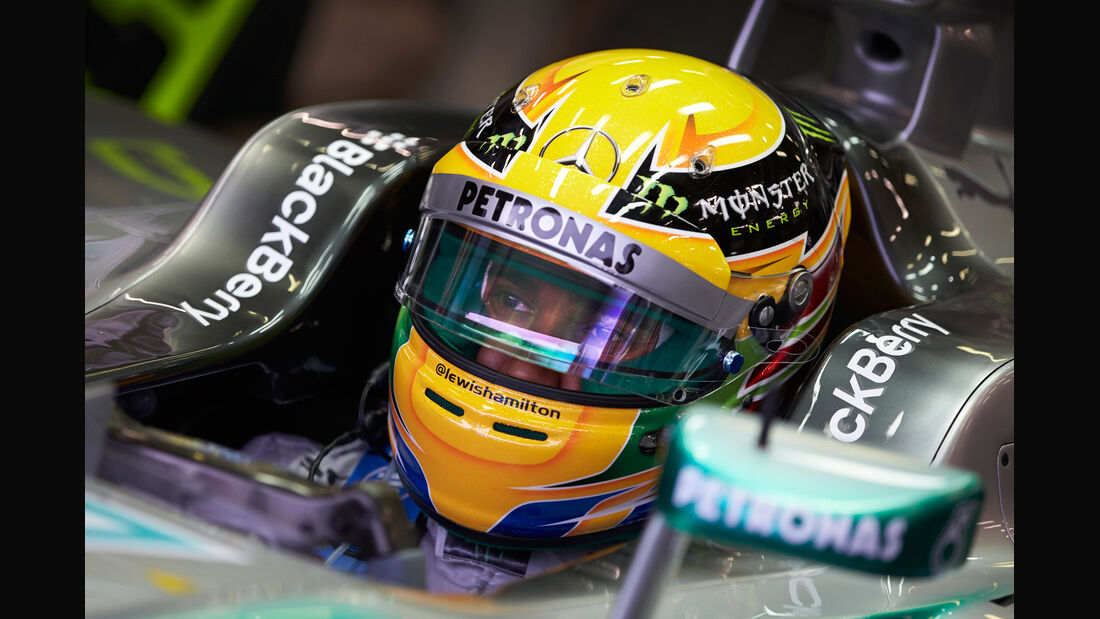 Lewis Hamilton 2013