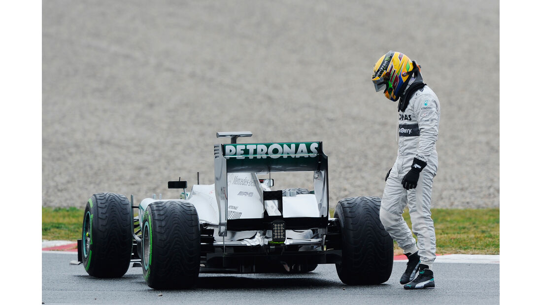 Lewis Hamilton - Barcelona F1 Test 2013