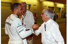 Lewis Hamilton - Bernie Ecclestone - Formel 1 - GP Abu Dhabi - 02. November 2013