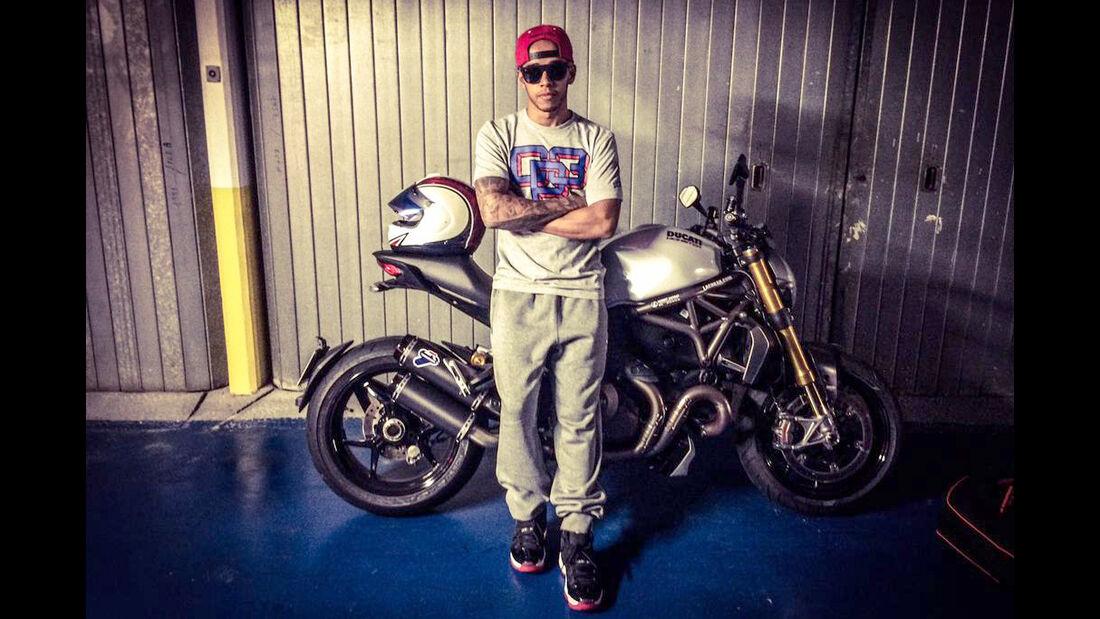 Lewis Hamilton - Bikes der F1-Piloten