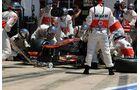 Lewis Hamilton  Boxenstopp McLaren - Formel 1 - GP Europa - 24. Juni 2012