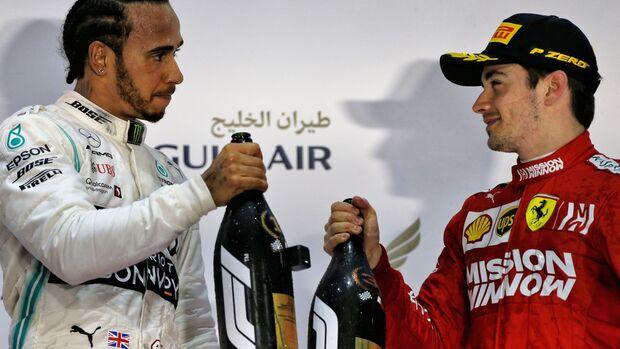 Lewis Hamilton - Charles Leclerc - Formel 1 - GP Bahrain - 31. März 2019