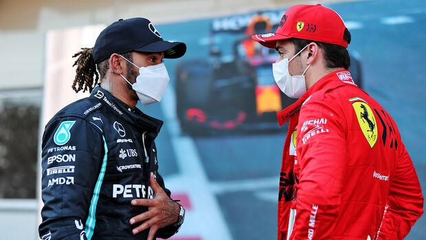 Lewis Hamilton - Charles Leclerc - GP Aserbaidschan 2021 - Baku - Qualifikation