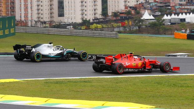 Lewis Hamilton & Charles Leclerc - GP Brasilien 2019