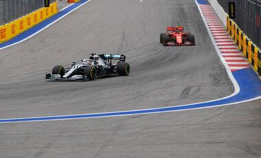 Lewis Hamilton - Charles Leclerc - GP Russland 2019 - Qualifying