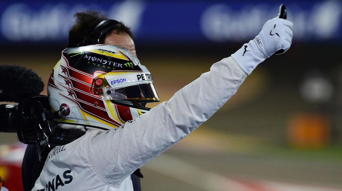 Lewis Hamilton - Crazy Stats - GP Bahrain 2016