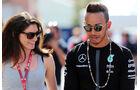 Lewis Hamilton - Cyndie Allemann - Formel 1 - GP Monaco - Mittwoch - 20. Mai 2015