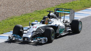 Lewis Hamilton - DRS - Jerez 2014