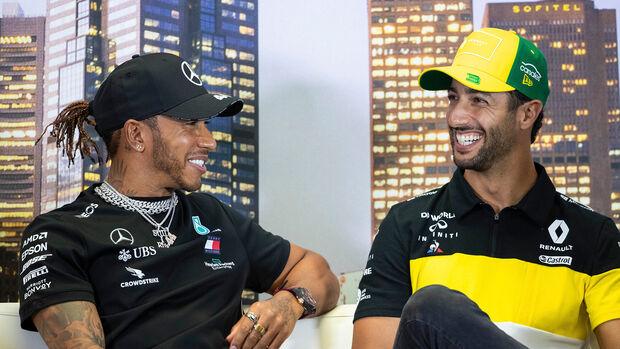 Lewis Hamilton & Daniel Ricciardo - GP Australien 2020